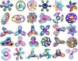 De verblindende Spinner van het Metaal van de Spinner friemelt Spinner