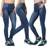 2017 a última venda quente Verão Thin Skinny Jeans Perneiras (17007)