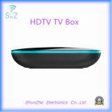 Casella Android ad alta definizione di Qbox 4k WiFi TV della televisione della rete per la famiglia