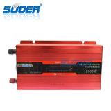Suoer 2kw 12V 220V hors réseau solaire intelligent avec écran LCD de convertisseur de puissance (PSD-D2000A)