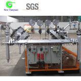 compresor de alta presión del oxígeno de la presión del enchufe 35MPa
