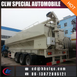 China 50m3 30mt Bulk Feed Trailer Fodder Transporte Tank Trailer