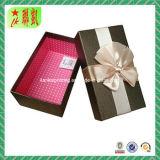 Boîte-cadeau de luxe personnalisée colorée de papier de carton