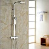 """Bain thermostatique Mélangeur de douche avec douche à main 8 """" pomme de douche de pluie"""