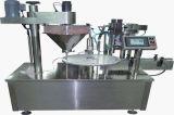 Embalaje semi automático horizontal del bolso de polvo de la máquina de rellenar