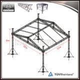 Quadratischer Gefäß-Binder-Hochzeits-Dekoration-Aluminiumbinder