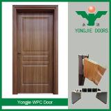 Низкая цена двери туалета двери самомоднейшей конструкции нутряная WPC и двери ванной комнаты