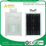 LED solaire 20W Wall Street Jardin Parking de la lampe témoin de triage