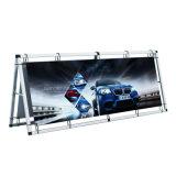 Bannière extérieure en aluminium pliable