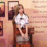 Reale Silikon-Puppe-japanische reizvolle Liebes-Puppe-Größengleichliebes-Puppen, japanische Liebes-Puppe