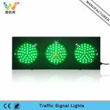 semáforo rojo del verde LED de la mezcla de la señal del autódromo de 200m m