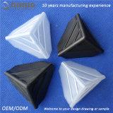 Protector de la esquina cuadrado del plástico 3-Sided de la aduana 35*35*35 milímetro de Qinuo