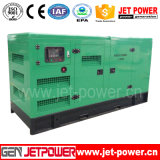 générateur silencieux de Portable du générateur 125kVA de centrale du moteur diesel 100kw