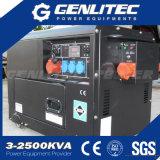 jogo de gerador 5kVA Diesel silencioso portátil com ATS