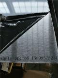 Material decorativo SUS304 N° 4 chapas de acero inoxidable mate para la construcción de Foshan