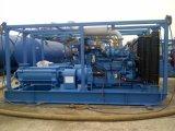 수평한 다단식 펌프