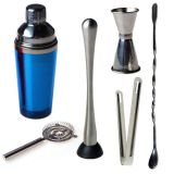 FDA / LFGB / SGS approuvé Ensemble de barman / Cocktail Shaker Set / Boston Shaker Set