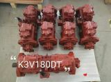 La sustitución de la bomba de pistón hidráulico Kawasaki, K3V 63, K3V112, K3V180