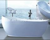 Hete Verkoop 1800mm Ellipse Freestanding Bathtub SPA voor het Project van het Hotel (bij-006)