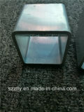 6063/6061 profil d'aluminium de T5customized/en aluminium d'extrusion d'alliage pour la tuyauterie/tube