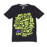 Patroon 100% van het beeldverhaal de Gekamde Katoenen Ringspun Digitale Afgedrukte T-shirts van Af:drukken Douane