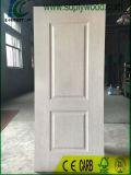 Piel de la puerta del molde de HDF con el papel de la melamina