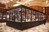 Stand environnemental de cabine d'étalage de panneau de mur d'objet exposé