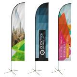 Флаг пера для напольный рекламировать