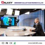 Pantalla video fija de interior de alta resolución de P1.875/P1.904 LED para la etapa de la TV, vigilando el centro