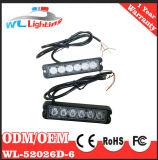 24V polizia LED che avverte la lampada d'avvertimento della griglia degli indicatori luminosi Emergency 6LED