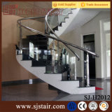 Binnenlands Roestvrij staal Glass Balustrade voor Trede Parts (sj-H930)