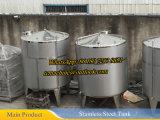 1000L Calentador de vapor Mezcla de tanque Mezcla de tanque de mezcla