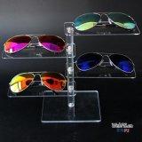 Suporte de exposição de óculos de sol de acrílico, exibição de óculos