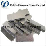 Segment voor Segment van het Zandsteen van de Diamant van het Graniet het Marmeren Scherpe