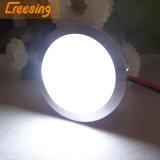 De Metal ultraplano 1,8 W LED lámpara de techo para muebles