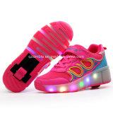 Chaussures à roulettes à roulettes LED style populaire Chaussures à roues pour enfants