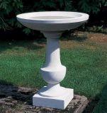 Blanc/gris granit/jardin/cour de triage sculpture de marbre le semoir