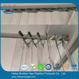 Jogos flexíveis fortes da ferragem de montagem da cortina do PVC do acordeão