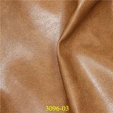 Cuero artificial de calidad superior de la PU para los zapatos, bolsos, muebles, tapicería
