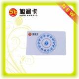 Smart card sem contato em branco do PVC do plástico com amostra livre