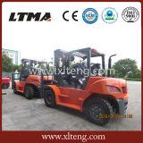 Ltma 5t LPG Doppel-Kraftstoff hydraulischer Gabelstapler für Verkauf