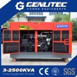 Yangdong (YSD490D)エンジン20kVAの無声ディーゼル発電機セット