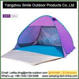 Heißer Verkaufs-kampierendes bewegliches Stahlrahmen-Pop-up Strand-Farbton-Zelt