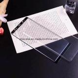 protector de la pantalla del vidrio Tempered de los accesorios de la célula 3D/del teléfono móvil con el pegamento del borde para Samsung Note8 (cubierta completa)