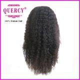 Peluca malasia de la onda de agua del frente del cordón del estilo del pelo humano del nuevo precio de la llegada buen (WW-066b)