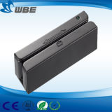 Lector de tarjetas magnéticas IC de interfaz USB estándar único EMV