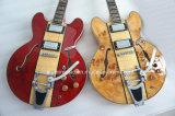 Guitare électrique de jazz de corps de cavité de marque d'Aiersi à vendre