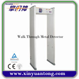 6 Areas High Sensitivity Walk Through Metal Detector Price