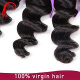 Weave 100% человеческих волос волны Remy девственницы бразильский свободный