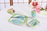 Fibra de bambu Novo design Inquebrável Conjunto de jantares para crianças / Conjunto de jantares para crianças